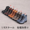 【Shoes King】1/6 SK009 男性用ブーツ 1/6スケール シューズ