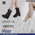 【TOYSCENTRE】TCT-010 AB Women's boots 女性ドール用ブーツ 1/6スケール 女性用シューズ