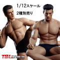【TBLeague】1/12scale Super Flexible Male Seamless Body PH2019-TM01A TM02A TBリーグ 1/12スケール シームレス男性ボディ