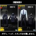 【Toyscity】TC-68013 68014 CHINESE SWAT&POLICE UNIFORM SET 1/6スケール男性コスチューム