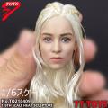 【TTTOYS】TQ210409 Dragon Mother 1/6スケール 植毛 女性ヘッド