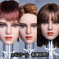 【YMtoys】YMT038 ABC beauty headsculpt Marty 1/6スケール 植毛 女性ヘッド