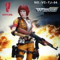 【VeryCool】VC-TJ-04 1/6 Wefire Of Tencent Game Fourth Bomb:Female Mercenary Heart King 女傭兵 紅桃K 1/6スケール女性フィギュア