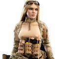 【VeryCool】VCF2037B 1/6 A-TACS FG Double Women Soldier - JENNER (B Style) 女性兵士 ジェンナー 1/6スケール女性フィギュア