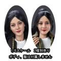 【VERYCOOL】VCL-1006 D/E 1/6 Asian Beauty Head Sculpture 1/6スケール 植毛 女性ドールヘッド