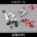 【X-TOYS】X-014 1/6スケール 男性フィギュア用スニーカー