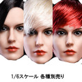 【YMtoys】YMT015 ABC beauty headsculpt 1/6スケール 植毛 女性ヘッド hk-3577