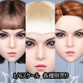 【YMtoys】YMT037 ABC beauty headsculpt Mary 1/6スケール 植毛 女性ヘッド