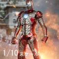 【ZDTOYS】中動玩具 1906-05 1/10 「アイアンマン2」 アイアンマン マーク5 1/10スケール アクションフィギュア