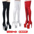 【ZYTOYS】ZY1014 High zipper women's boots ロングブーツ 1/6スケール 女性用シューズ