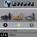 【ZYTOYS】ZY1003 ABC ローカットトレッキングブーツ 1/6スケール 男性用シューズ