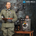 【DID】D80096 WH (Infantry) Major Achbach German communications Set1 ドイツ軍 通信部隊 大佐 アッハバッハ