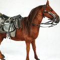 【DID】ULTIMATE REALISTIC HORSE for all era Standing 馬(立つ)茶