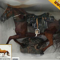 【DID】ULTIMATE REALISTIC HORSE for all era Charging 馬(走る)鞍=黒色