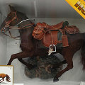 【DID】ULTIMATE REALISTIC HORSE for all era Charging 馬(走る)鞍=茶色