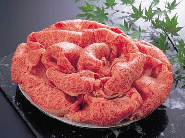 和牛ロースすき焼き・鉄板焼用(参考画像)