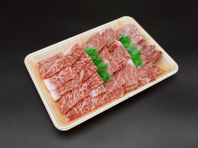 広島牛焼肉セット(ロース、カルビ、モモ)