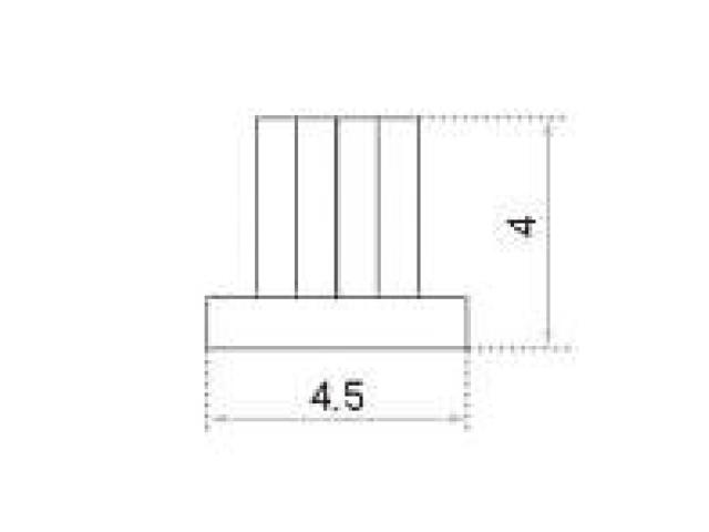 モヘア 4.5×4.0 トステム BPJT963 【ネコポス可】