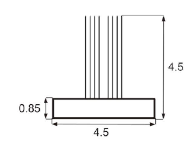 モヘア 4.5×4.5 トステム PJT697 【ネコポス可】