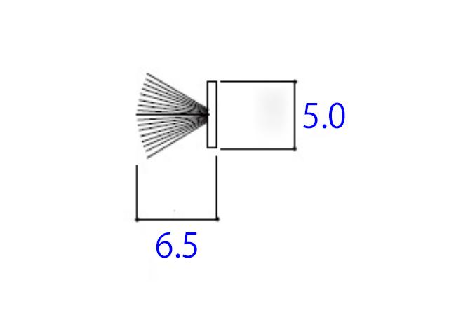 モヘア5.0×6.5 YKK 2K25721 【ネコポス可】