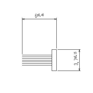 モヘア 3.7×6.0 YKK K24025 【ネコポス可】