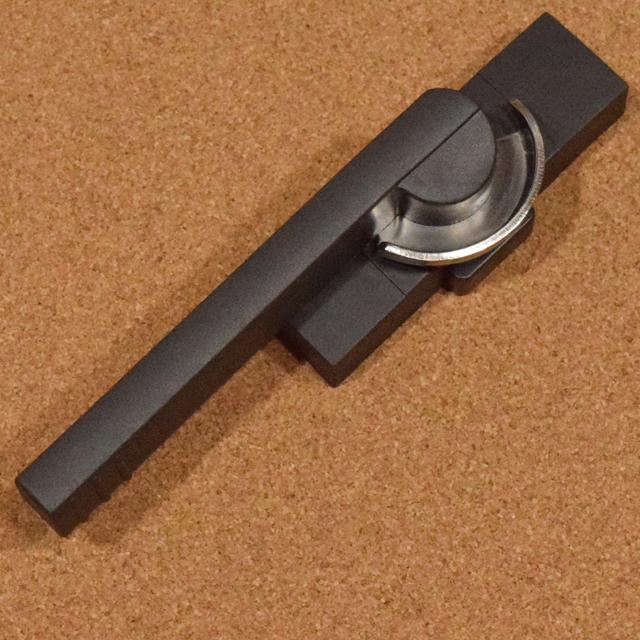 新日軽 ビル用サッシクレセント錠 CL1252(SVQ64)二重ロック付き