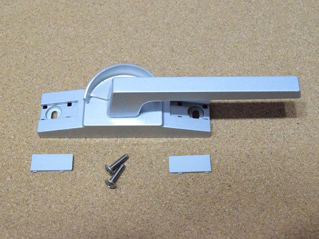 新日軽 ビル用サッシクレセント錠 CL179(SVQ97)二重ロックなし 防火仕様