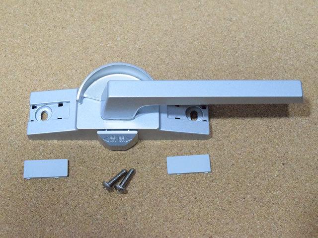 新日軽 ビル用サッシクレセント錠 CL180(SVQ99)二重ロック付き 防火仕様