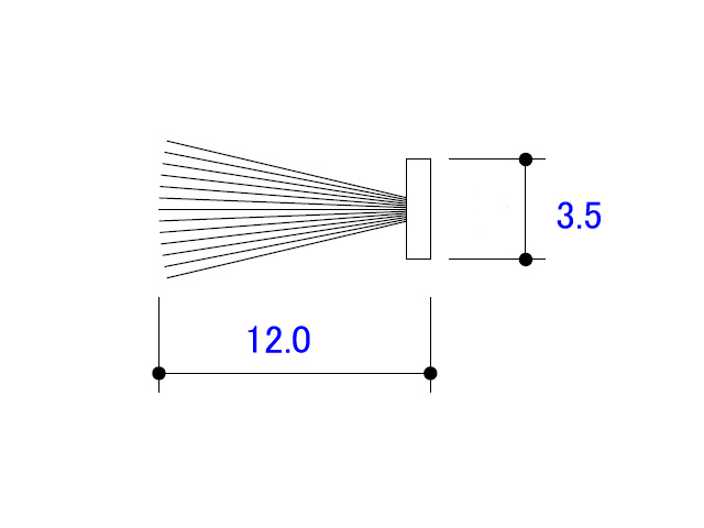 モヘア 3.5×12.0 立山アルミ FP105 【ネコポス可】