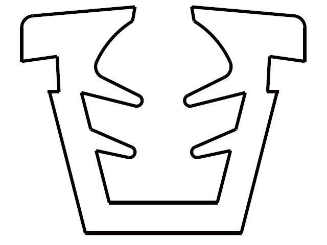トステム 9ミリ口溝幅用 U字型グレチャンビード  【クリックポスト可】