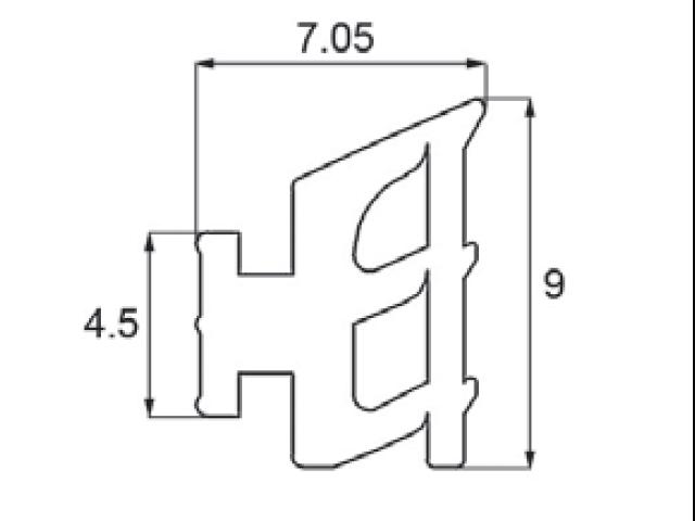 トステム先付ビード AKP223B  【ネコポス可】