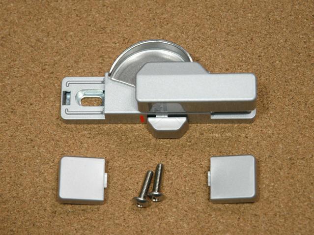 トステム ビル用サッシPRO70用 クレセント錠(小) BZC13 二重ロック付き