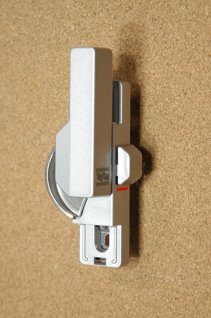 トステム ビル用サッシTBH70-2用 クレセント錠(中) BZC143 二重ロック付き