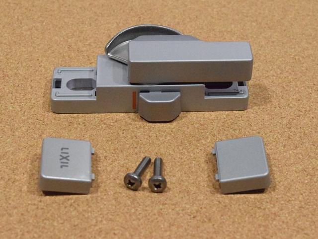 トステム ビル用サッシPRO70用 クレセント錠(小) BZC273 二重ロック付き