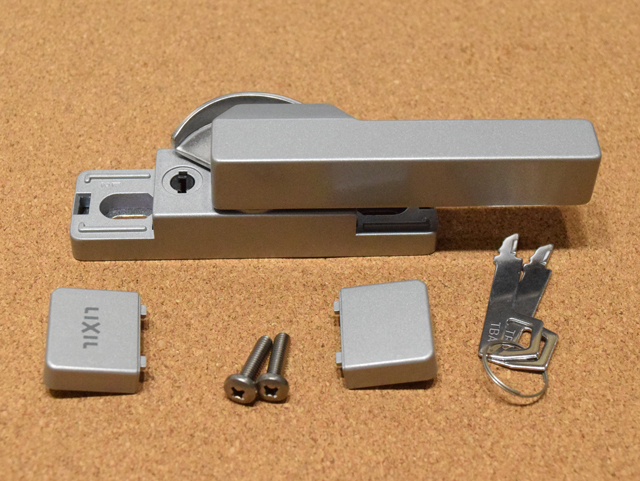 トステム ビル用サッシPRO70用 クレセント錠(大) BZC277 鍵付き