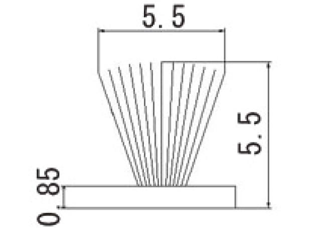 モヘア 5.5×5.5 トステムHACT113 【ネコポス可】