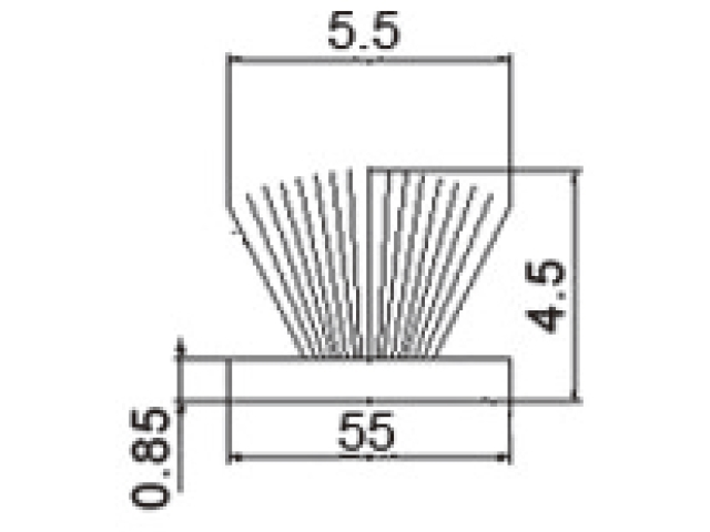 モヘア 5.5×4.5 トステムHACT360 【メール便可】