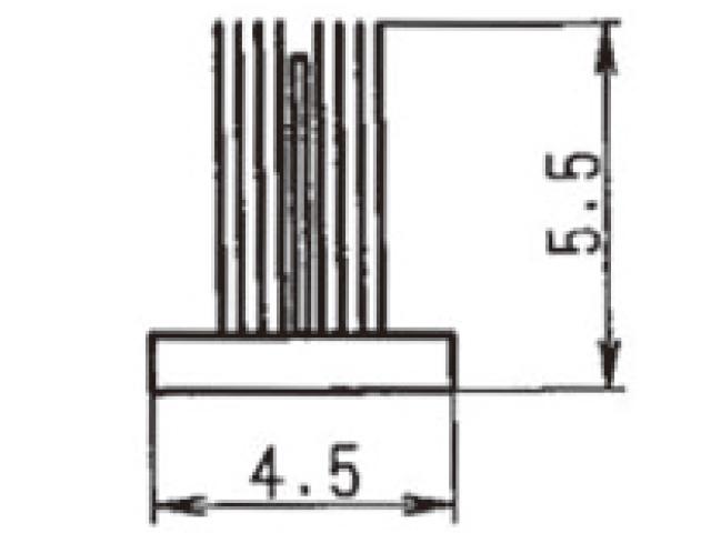 モヘア 4.5×5.5 トステム PJT732 【ネコポス可】