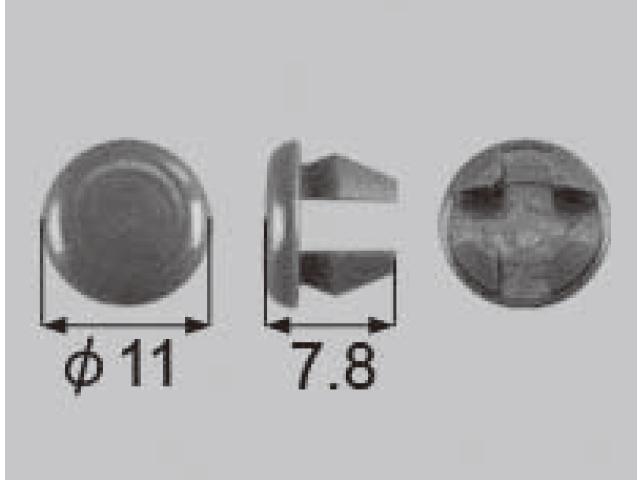 トステム Φ8 穴塞ぎキャップ QDA500 【ネコポス可】
