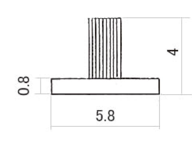 モヘア 5.8×4.0 トステム WPT230 【ネコポス可】