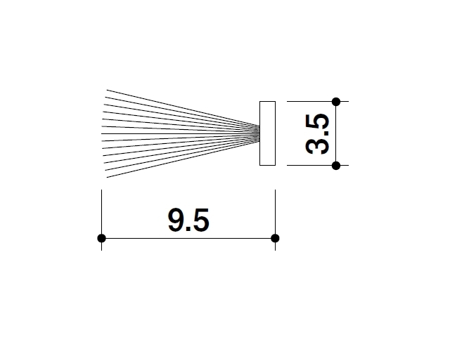 モヘア 3.5×9.5 トステムYDF925 【ネコポス可】