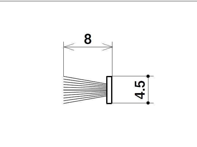 モヘア 4.5×8.0 三協アルミ 3K0842 【ネコポス可】