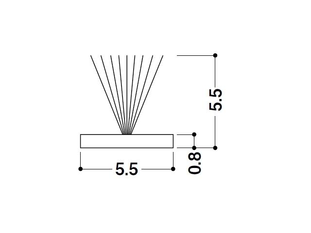 モヘア 5.5×5.5 トステムYDUS515 【ネコポス可】