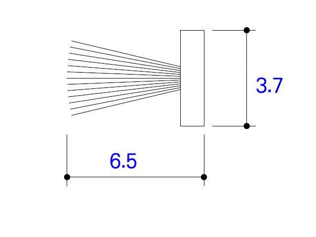 モヘア 3.7×6.5 YKK K23277 【ネコポス可】