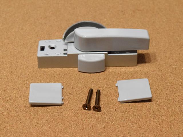 YKK エクシマ70 クレセント錠(中) 3K13381 (ピッチ70)ロック付き