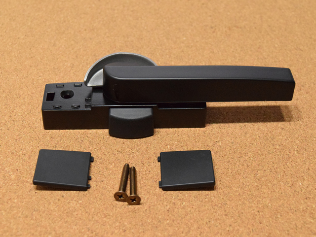 YKK エクシマ70 クレセント錠(大) 3K13383 (ピッチ70) ロック付き
