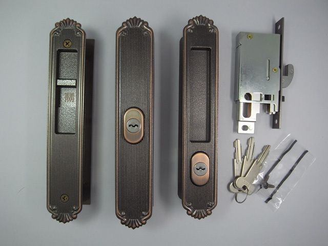 YKK 玄関引戸H=2000用 錠セット