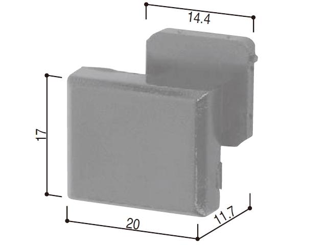 YKK 中折れ網戸 木製枠取付ブロック HHK34384 【ネコポス可】