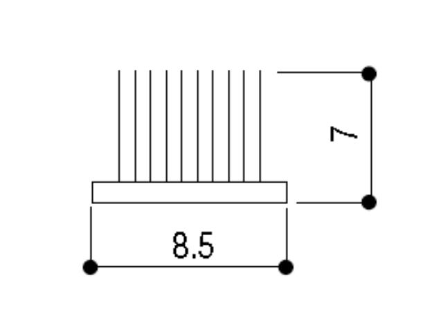 モヘア8.5×7.0 YKK K1401 【ネコポス可】