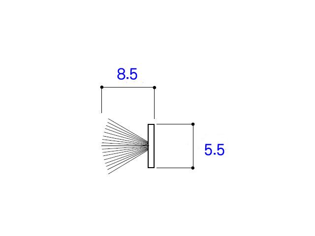 モヘア5.5×8.5 YKK K22517 【ネコポス可】